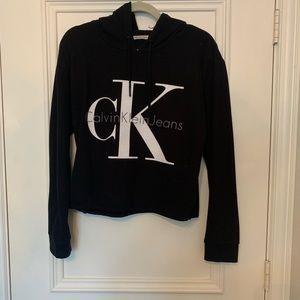 Calvin Klein Semi-Cropped Hoodie Sweatshirt